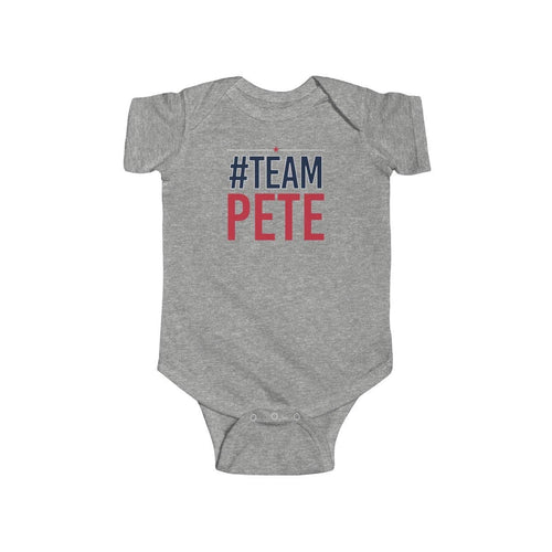 #TeamPete Baby Onezie (unisex) - mayor-pete