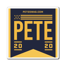 Load image into Gallery viewer, Pete 2020 Flag Magnets - Navy