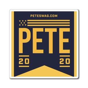 Pete 2020 Flag Magnets - Navy
