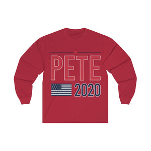 Pete2020 Flag Unisex Jersey Long Sleeve Tee
