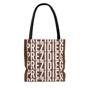 """Prezidieg all over"" - Truman Brown - Tote Bag"