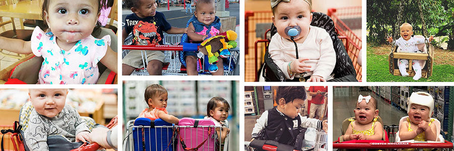 MomoGo customer baby collage