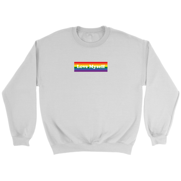 LGBT Love Myself Unisex Crewneck