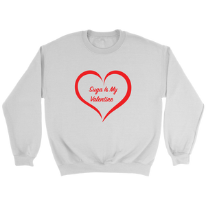 Suga is My Valentine Unisex Crewneck Sweatshirt