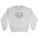 I Purple You Sweatshirt