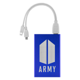 BTS ARMY Logo Power Bank
