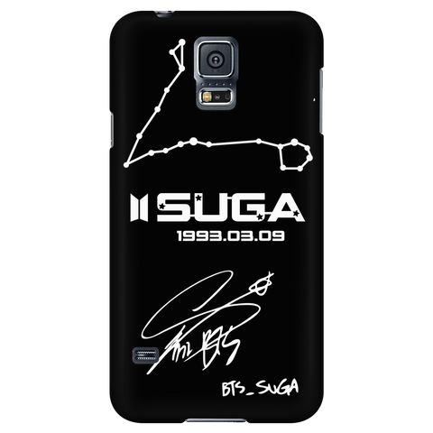 Suga's PISCES Constellation & Signature Phone Case