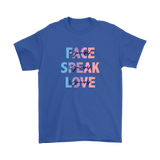 Face Yourself, Speak Yourself, Love Yourself Men's T-Shirt