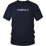 I Purple You meaning in english T-Shirt