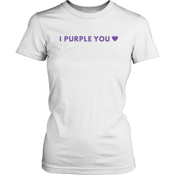 I Purple You Heart Women's T-Shirt