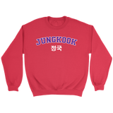 jungkook spring day sweater