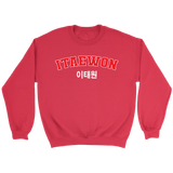 Itaewon shopping sweater