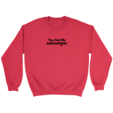 You Got Me Jungkook Unisex Crewneck