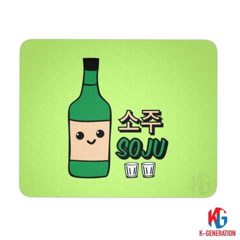 Smiley Soju Mouse Mat
