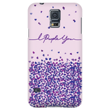 I Purple You Handwritten Phone Case