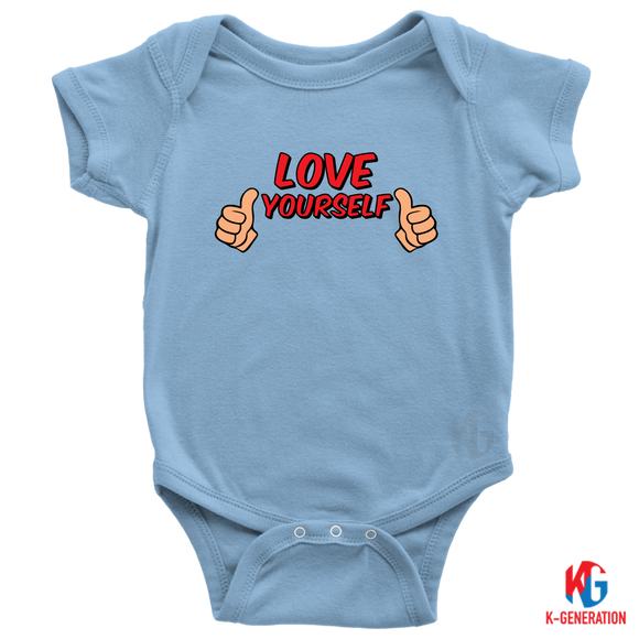Love Yourself Baby Bodysuit