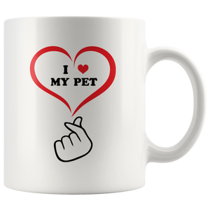 I LOVE MY PET Mug