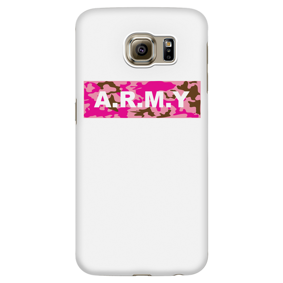 ARMY White Phone Case
