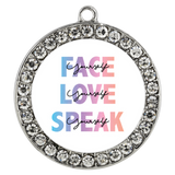 FACE, LOVE, SPEAK Yourself Bracelet - Chloe