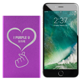 I Purple U 보라해 HEARTEU Power Bank