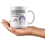 RM UN Speech Quote Mug