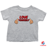 Love Yourself Toddler Tee