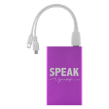 Speak Yourself Power Bank