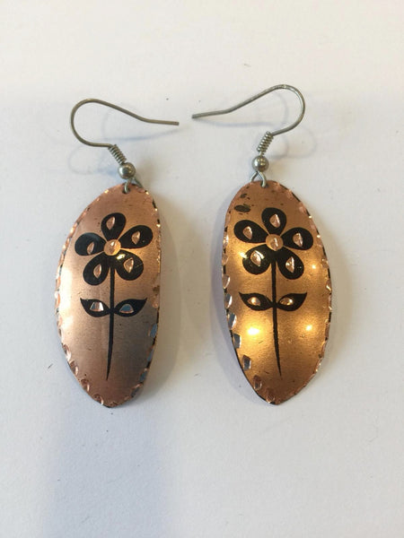 TURKISH COPPER EARRING, 252