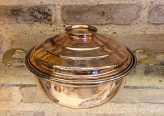 TURKISH COPPER COOKING & SERVING PAN