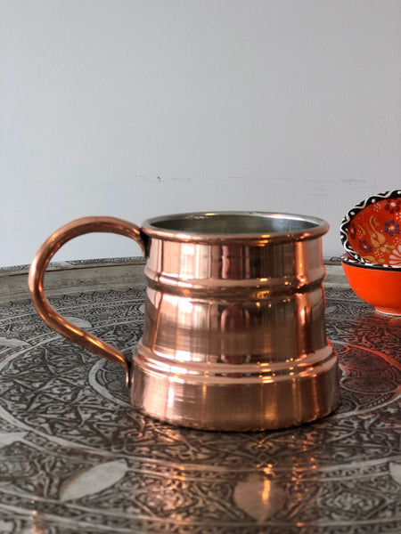 TURKISH COPPER MUG, 004