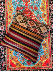 UNIQUE TURKISH KILIM PILLOW, 046