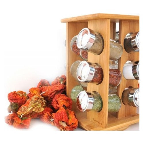 BAMBOO SPICE BOX SET, COFFEE / SPICE / SALT