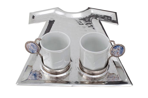 COPPER TURKISH COFFEE SET FOR TWO