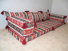 LARGE SEDIR CUSHION SET - TURKISH RESTAURANT / HOTEL DECOR, 008