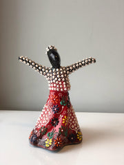WHIRLING DERVISH CERAMIC FIGURE