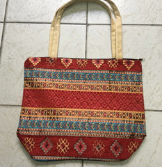 HANDMADE KILIM SHOULDER BAG, MULTI 004