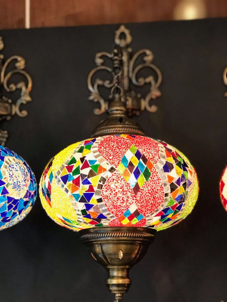 MOSAIC WALL LAMP, COLORFUL 002