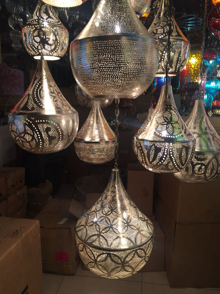 HANDMADE ARTWORK MOROCCAN CHANDELIER , 16 LAMPS