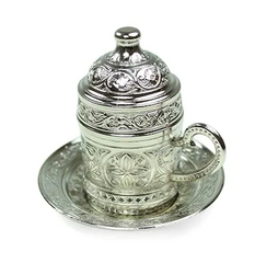 TURKISH COFFEE CUP, SILVER