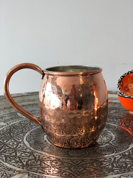 TURKISH COPPER MUG, 005