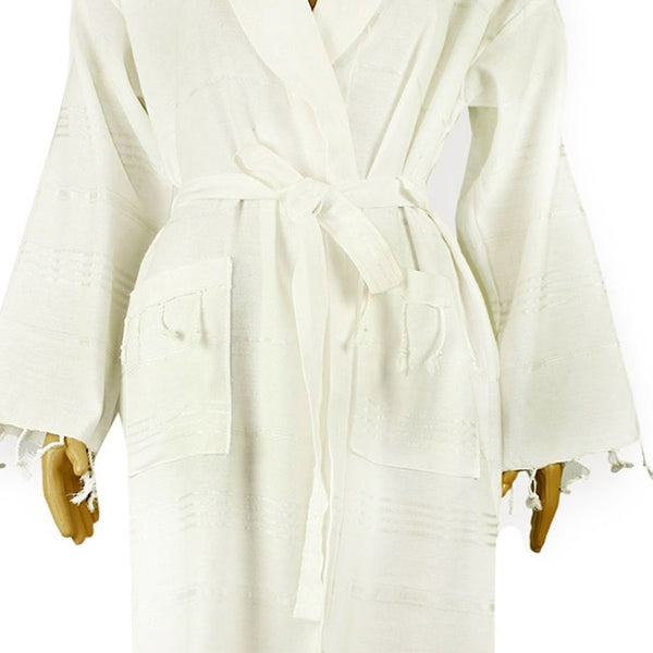 TURKISH PESHTEMAL BATHROBE