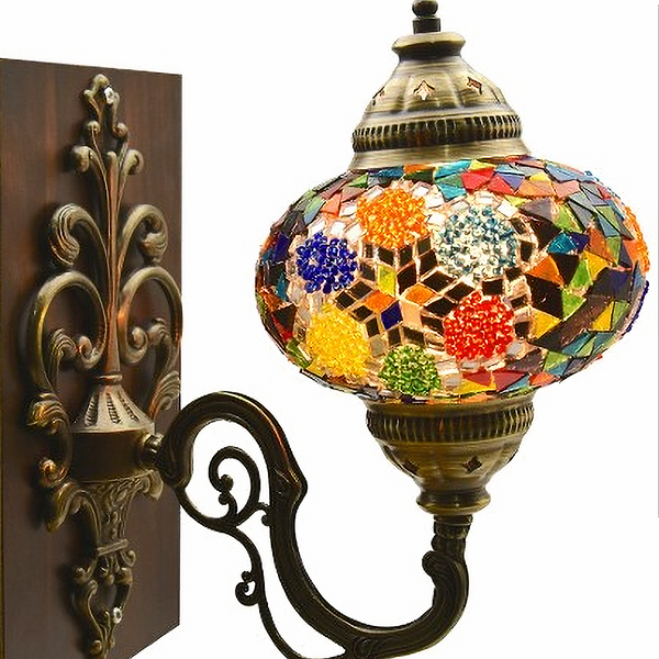 MOSAIC WALL LAMP, MULTI-COLOR 009