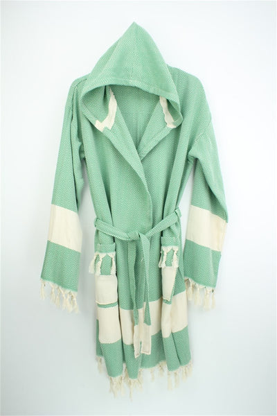 TURKISH PESTEMAL BATHROBE