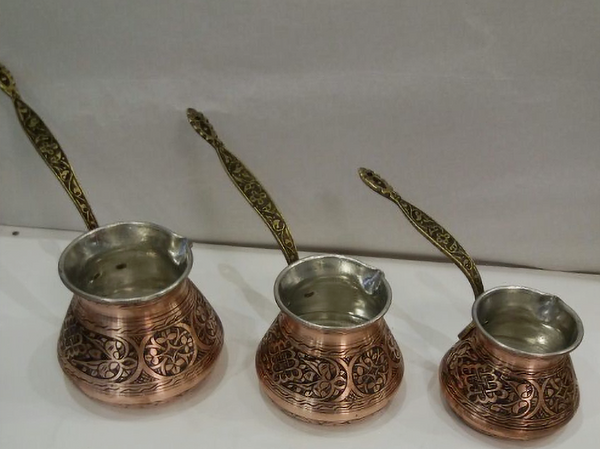 TURKISH COFFEE POT SET OF THREE