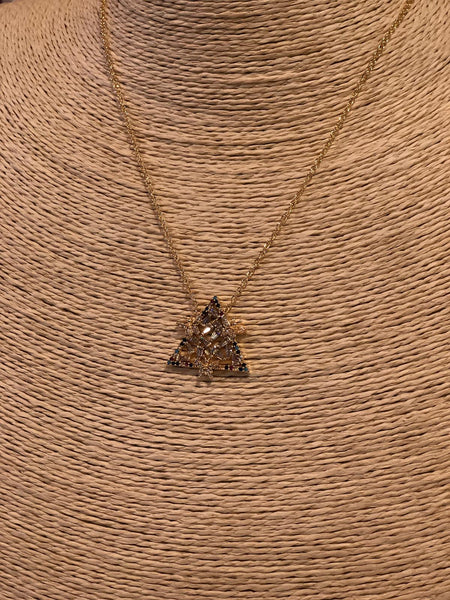 UNIQUE TRIANGLE NECKLACE, 003