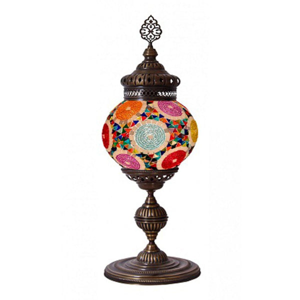 EXTRA LARGE MOSAIC TABLE LAMP