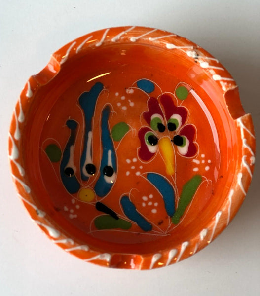TURKISH CERAMIC ASHTRAY, 001