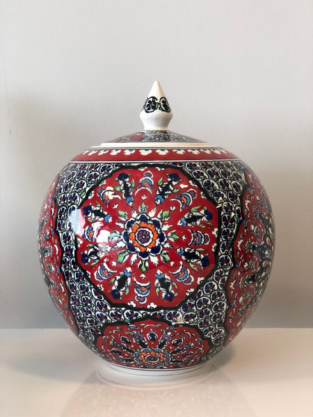 EXCLUSIVE TURKISH CERAMIC ROUND JAR - 65 cm