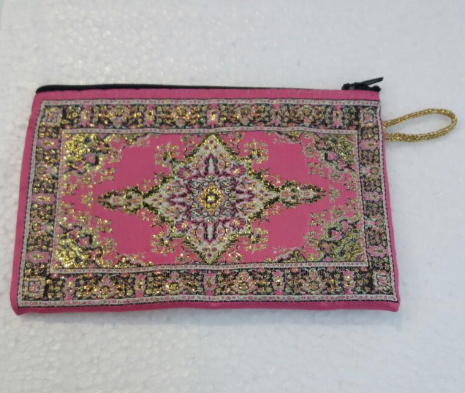 LARGE COIN CASE, PINK