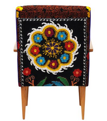 UNIQUE HANDMADE SUZANI CHAIR, 006